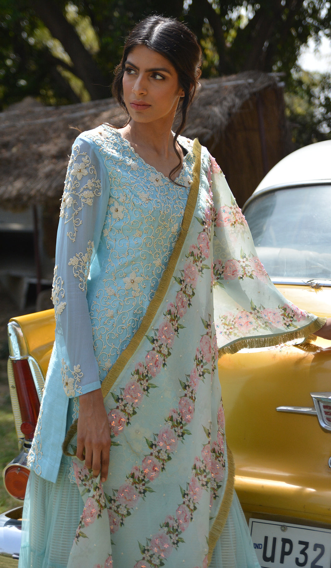 MOTI JAAL RAW SILK SUIT