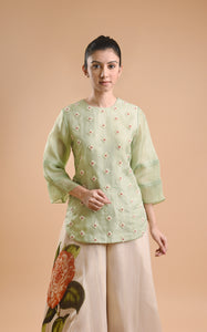 SHORT KURTI AND PRINTED PALAZZOS