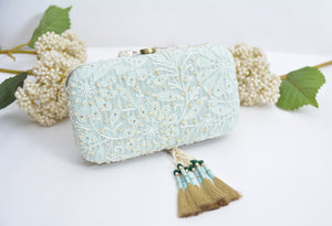 Light Blue Clutch