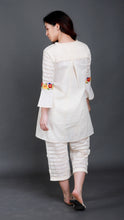 Load image into Gallery viewer, Rose Bell Cuff Tunic with Crochet Detailing