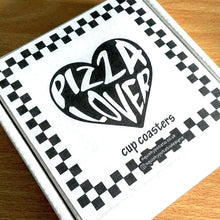 Pizza Lover Cup Coasters