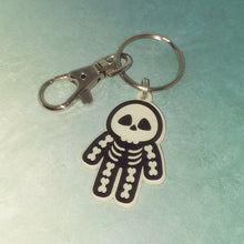 Glow in the Dark Skeleton Keyring