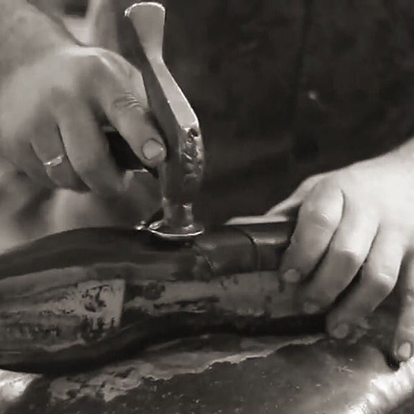 The methods of construction of Handcrafted Men's Leather Dress Shoes, Goodyear welt and Blake Welting; the Pros and Cons.