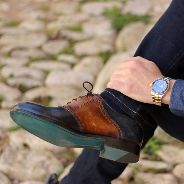 Unique Handcrafted casual Derby