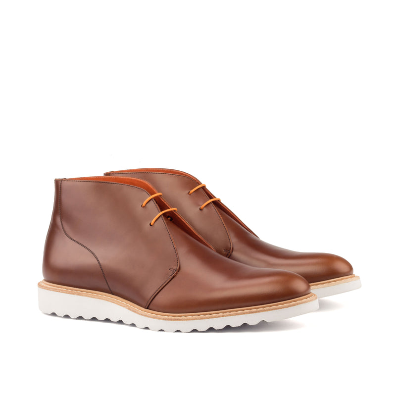 Unique Handcrafted Brown Spring Chukka