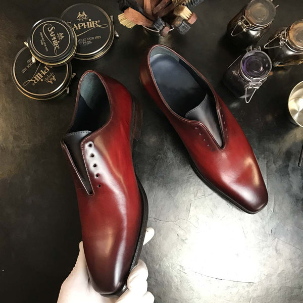 QUINTON - Unique Hand Painted Oxford Patina