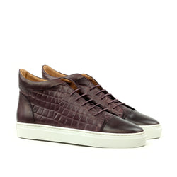 Unique Handcrafted LR High-Tops Croco RD