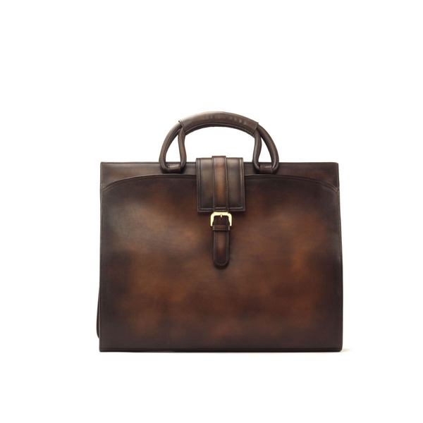 ~the brief CASE ~ Beautiful Unique Handcrafted Patina Bag