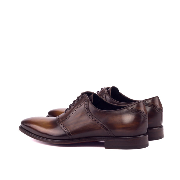 DAMIE - Unique Handcrafted Brown Patina Oxford