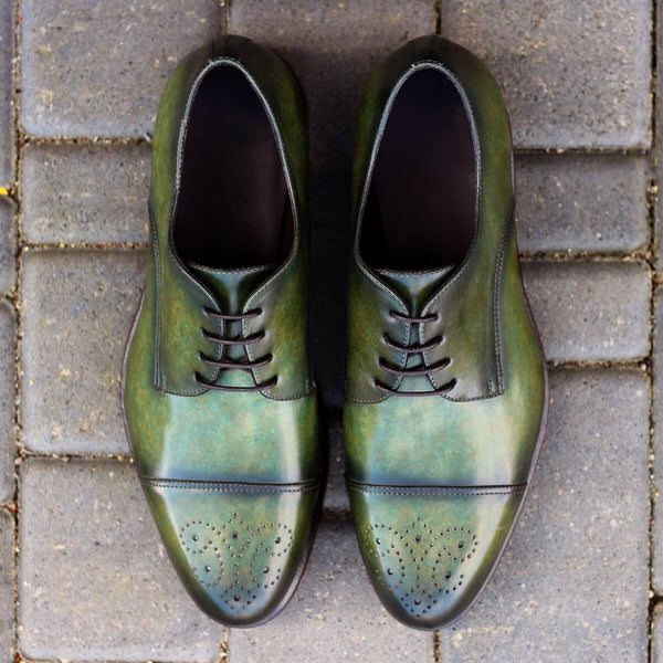 Unique Handcrafted Patina Luxury Derby