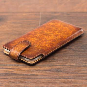 ~the phone CASE ~ Beautiful Unique Handcrafted & Hand-Painted Patina