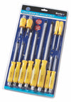 BlueSpot 12 Pce Hex Bolster Screwdriver Set - West Kent Motor Factors