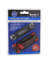 BlueSpot 17 Pce Metric and Imperial Hex Key Set - West Kent Motor Factors