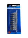 "BlueSpot 9 Pce 1/4"" Torx Bit Socket Set (T10-T60) - West Kent Motor Factors"