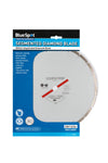 "BlueSpot 300mm (12"") Segmented Silver Diamond Dry Cutting Disc - West Kent Motor Factors"