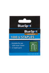 BlueSpot 1000 Pce 12mm U-Staples - West Kent Motor Factors