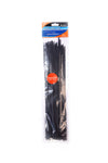 BlueSpot 50 Pce 4.8mm x 350mm Black Cable Ties - West Kent Motor Factors