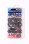 BlueSpot 125 Pce Assorted Tap Reseater Washer Set - West Kent Motor Factors