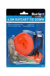 BlueSpot Ratchet Tie Down (25mm x 4.5Mtr) - West Kent Motor Factors