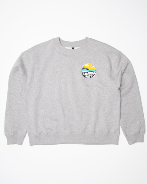 MNT Badge Organic Crew Sweater