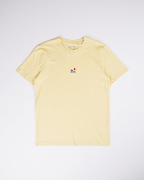 Sunset Shark T-Shirt - Yellow
