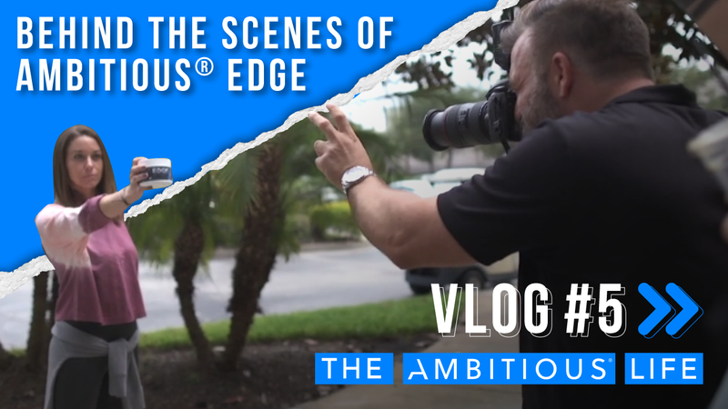 Behind The Scenes Of The Ambitious® EDGE Photoshoot