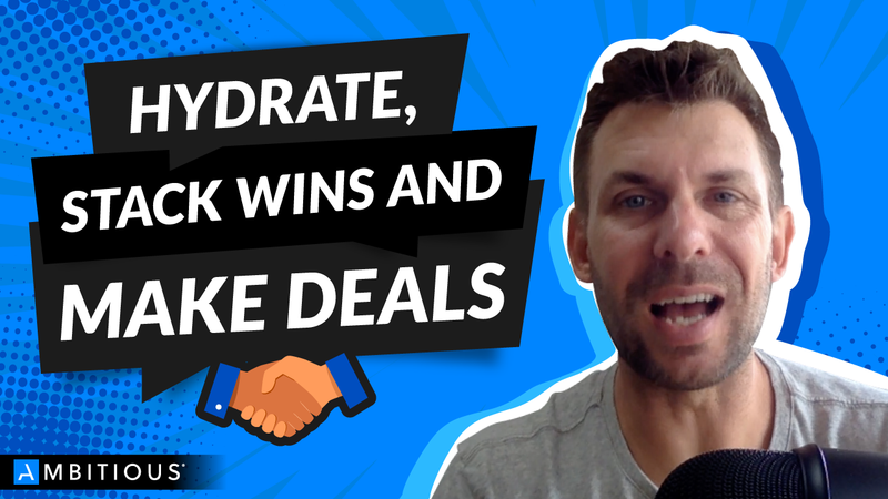 Helping Entrepreneurs Hydrate, Stack Wins And Make Holiday Deals