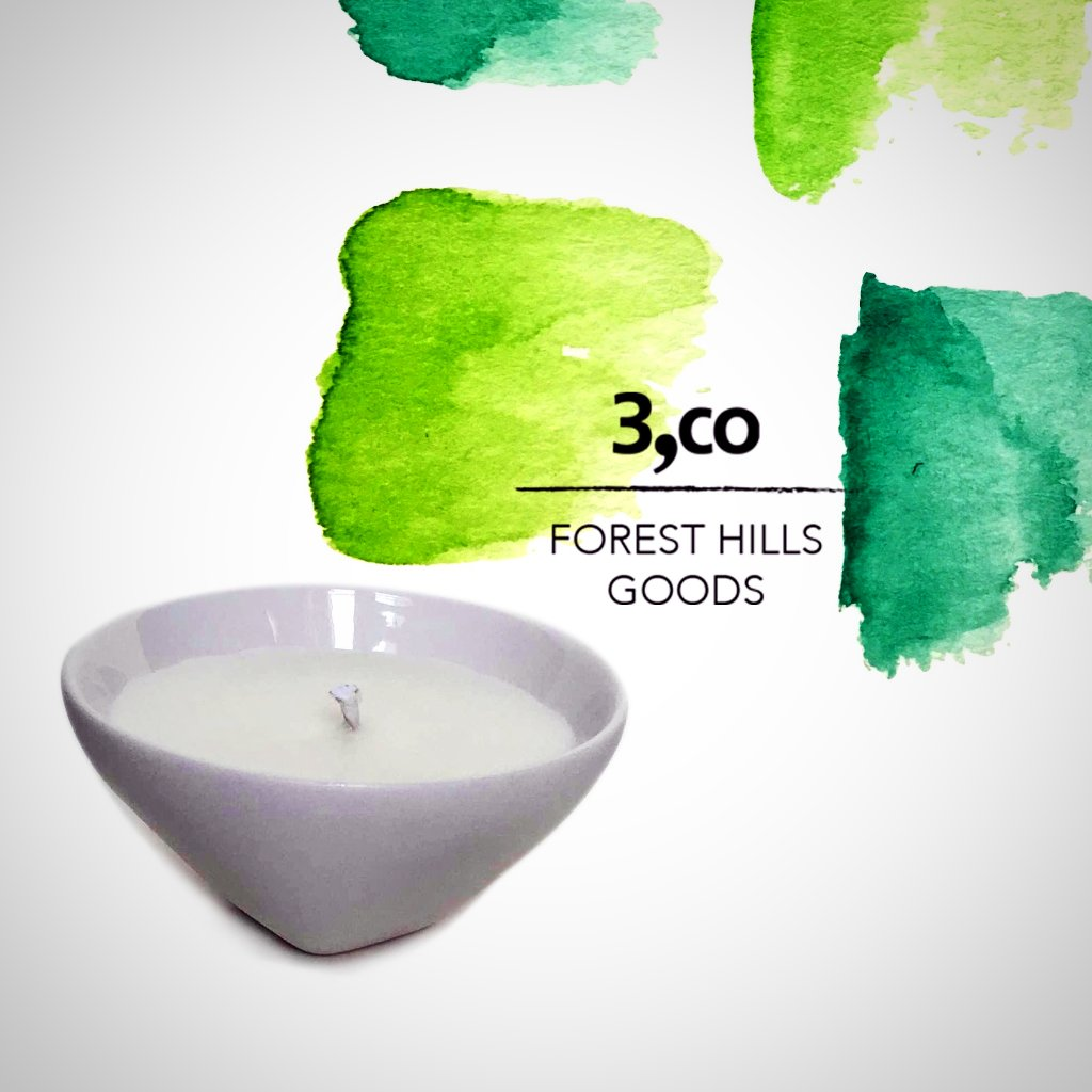 Forest Hills x 3,Co Travel Candle