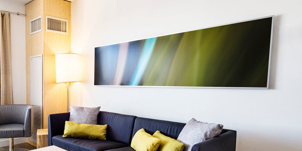 Large Scale Aluminum Art for Hotel Guestroom