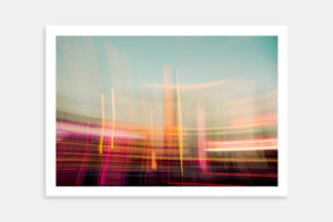 city colourful art prints