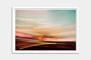 city abstract framed artwork