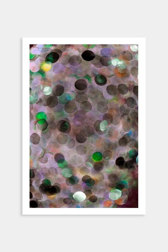colorful circles fine art