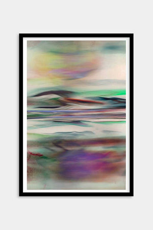 framed colorful abstract art