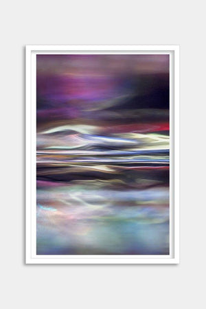 purple abstract artwork