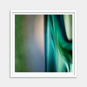 teal green framed art buy