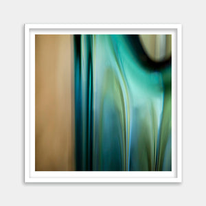 framed turquoise abstract art buy