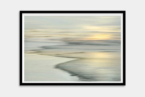 framed artist seascape