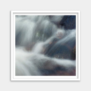 framed original waterfall art