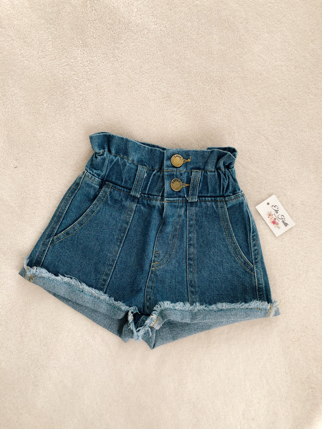 Tobi high waisted denim shorts