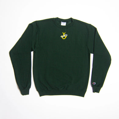 Jaded Crewneck (Green/Yellow)