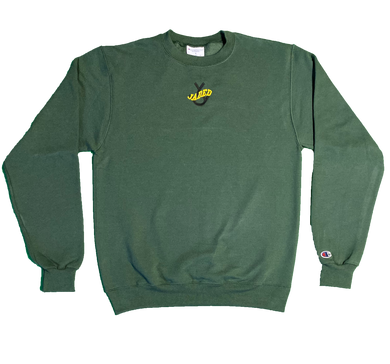 Jaded Crewneck (Green/Black)
