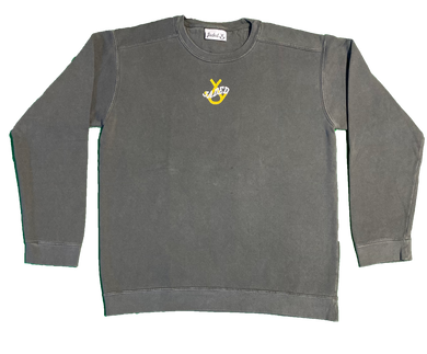 Jaded Crewneck (Grey/Yellow)