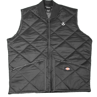 Jaded Course Diamond Quilted Vest