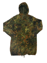 Jaded News Hooded Camo Jacket