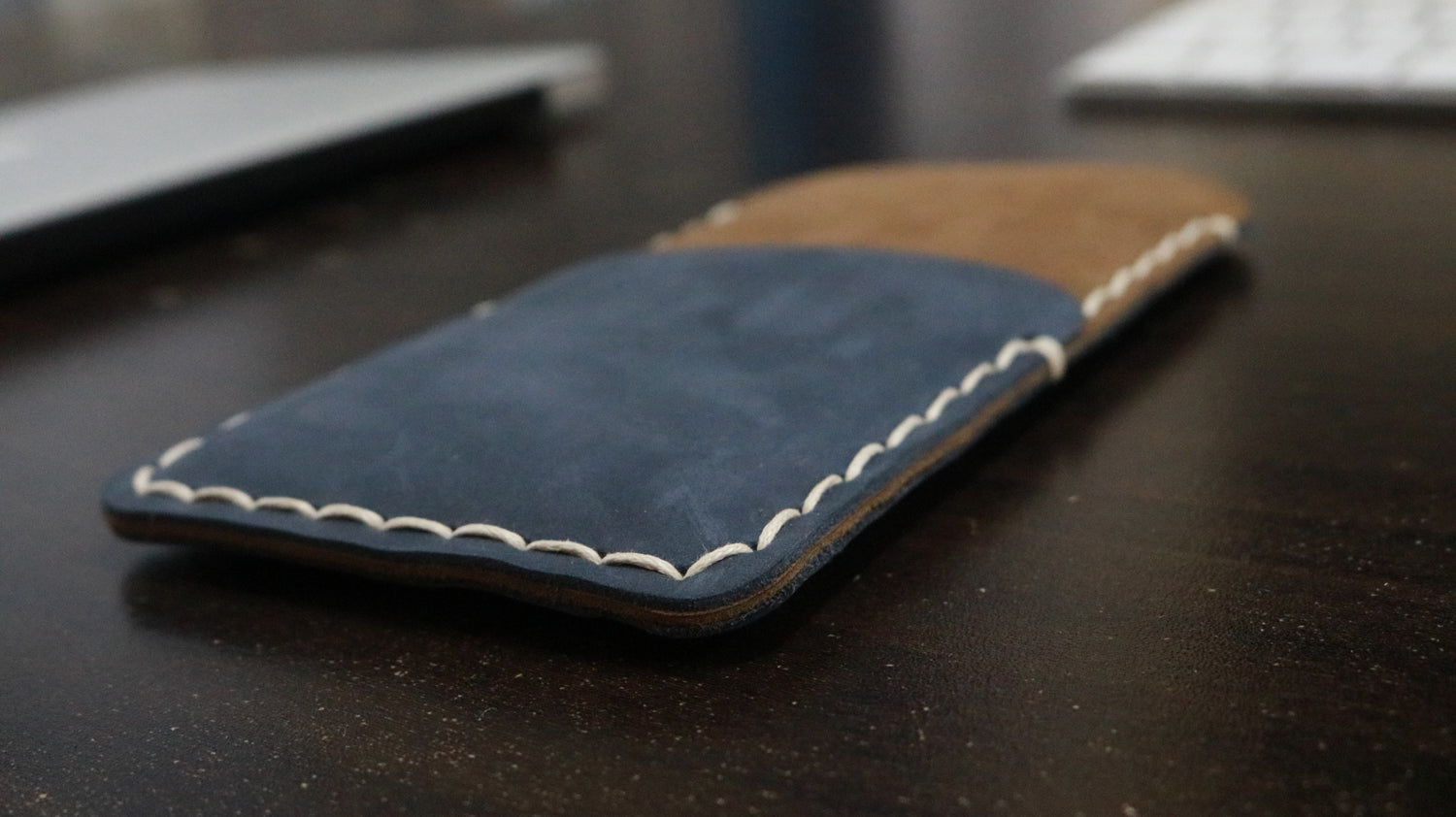 STRATOZY - Handmade Genuine Leather Mobile Cover