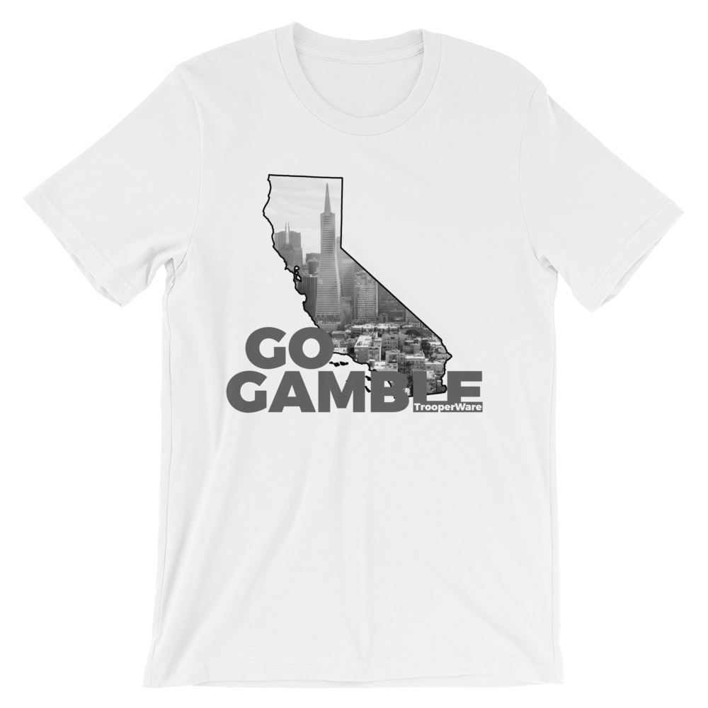 San Francisco CA Go Gamble T-Shirt