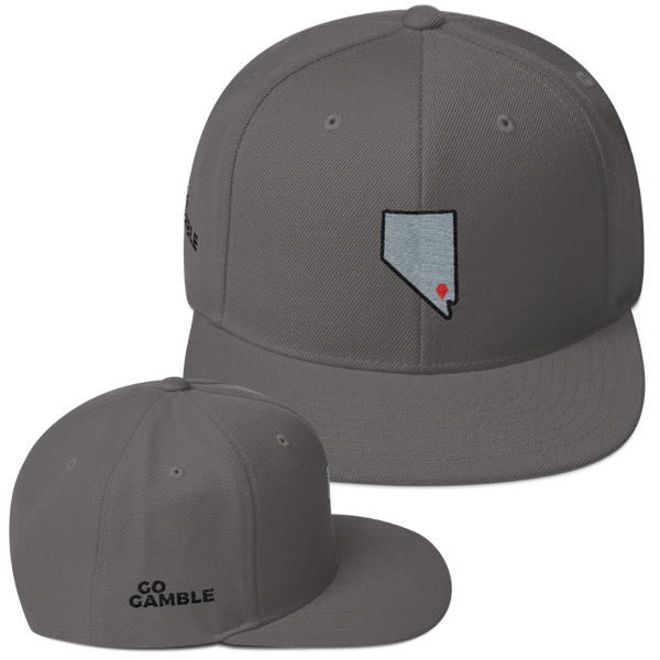 dark grey Location Las Vegas Wool Blend Snapback