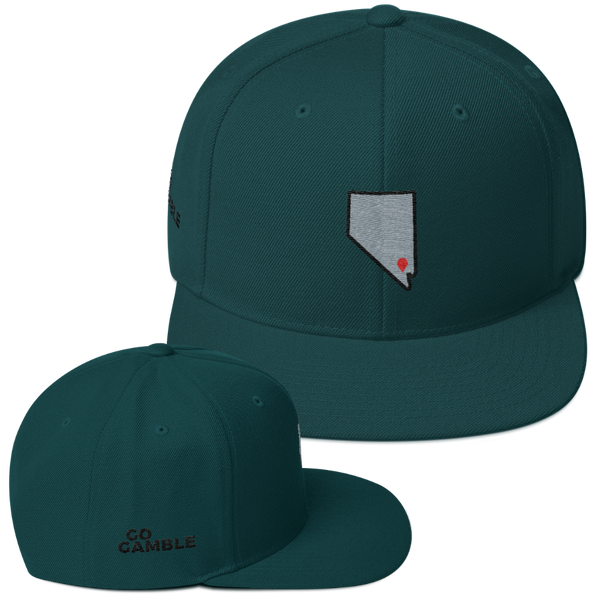 spruce Location Las Vegas Wool Blend Snapback