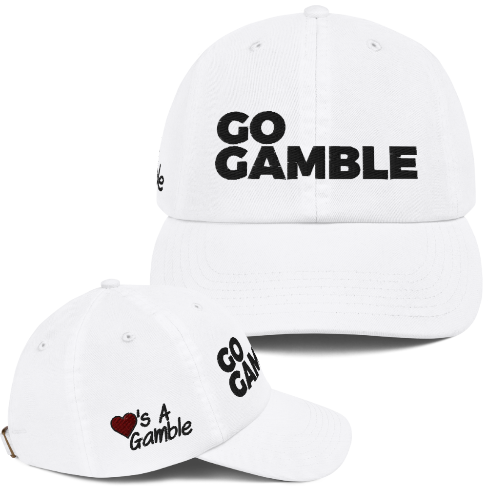 Champion Love's a Gamble Dad Cap
