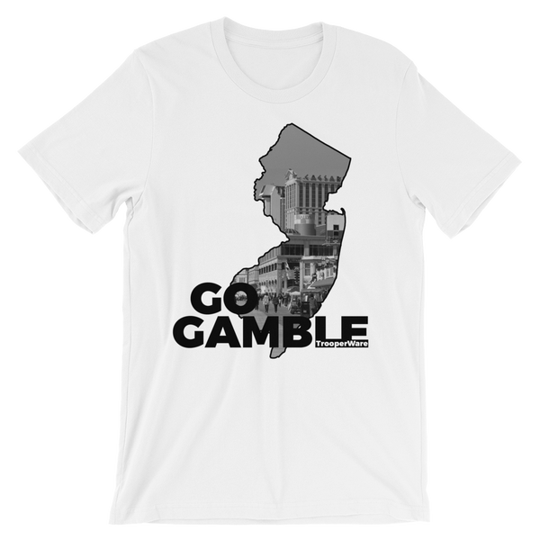 Atlantic City NJ Go Gamble T-Shirt